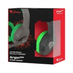 Žaidimų ausinės Genesis Argon Green 200 with Microphone Mini Jack 3.5mm X2 PC