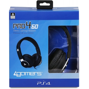 4GAMERS PRO4-60 Stereo Gaming Headset (PS4/ VR)